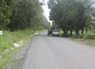 Trabajos de rehabilitación en carretera hacia fincas bananeras de Barú alcanza un avance del 41%