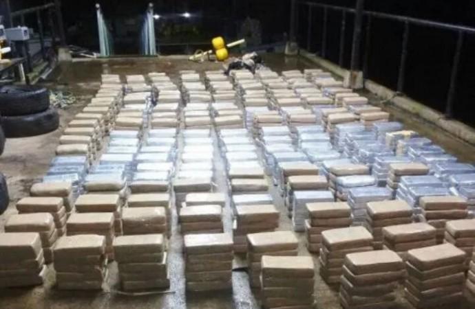 Unidades policiales incautan presunta droga en provincia de Chiriquí