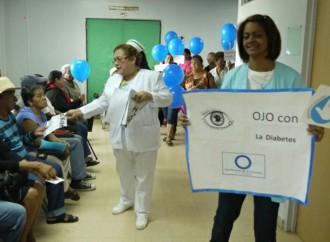 """50 pacientes participan en Campaña """"Ojo con la Diabete"""" de la Policlínica JJ Vallarino"""
