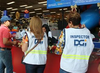 DGI realizó inspecciones para vigilar el cumplimiento de la Ley en materia de facturación