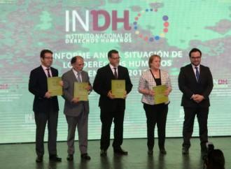 Presidenta Bachelet recibió Informe anual del Instituto Nacional de Derechos Humanos