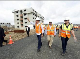 Presidente Varela supervisa avances del proyecto de viviendas Ciudad Esperanza
