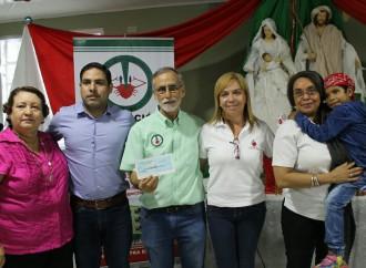 Asociación Nacional contra el Cáncer en Veraguas recibe aportes del Despacho de la Primera Dama