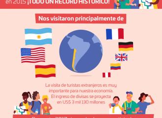 El turismo en Chile registro cifra record en el 2016