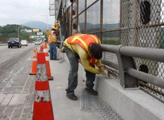 Estos son los horarios de trabajos de rehabilitación del Puente de Las Américas