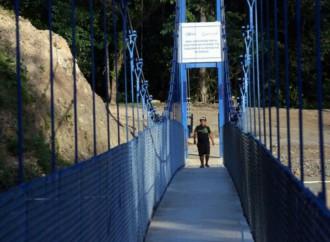 Nuevos puentes zarzos mejorarán calidad de vida de más de 8 mil personas en la Comarca Ngäbe Buglé