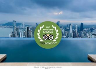 Trump International Hotel & Tower Panamá ganó el Traveler's Choice Award 2017 Top Hoteles de Lujo en Centroamérica