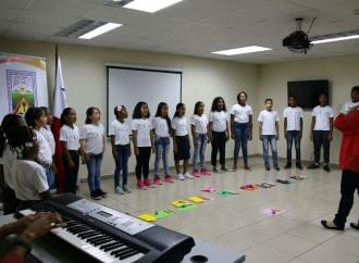 Niños y Niñas de San Miguelito dieron el Cierre al programa Veranito Cantar y Jugar