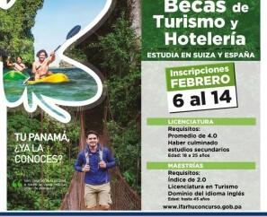 Hasta el 14 de febrero las inscripciones del segundo concurso de becas para estudiar licenciaturas y maestrías en Hotelería y Turismo, en Suiza y España