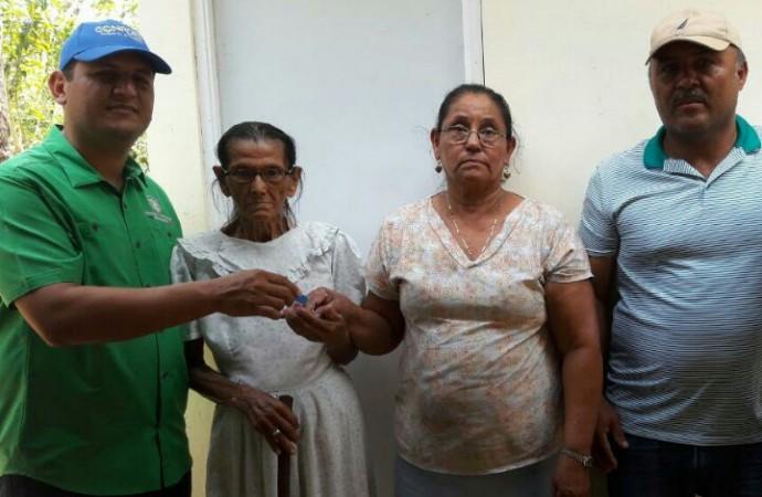 CONADES mejora la calidad de vida a familias en Veraguas