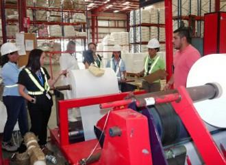 Salud Ocupacional de Policlínica de Arraiján visitó empresa PANAMLAM