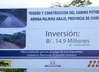 Arranca construcción de etapa final de Ruta Sur para impulsar producción y turismo en Dolega y Boquete