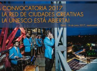 Hasta el 16 de junio plazo para presentar candidaturas a la Red de Ciudades Creativas de la UNESCO en 2017