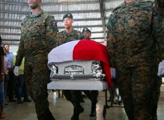Despiden como héroe a sargento primero Julio César Guzmán, caído en cumplimiento de su deber