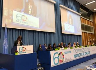 Colombia participa en el 60º Período de Sesiones de la Comisión de Estupefacientes de las Naciones Unidas