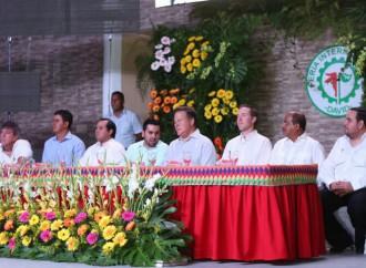 Presidente Varela reitera apoyo al sector agropecuario al iniciar Feria de David
