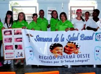 Estudiantes en Arraiján participan en jornada de Salud Bucal