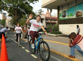 Alcaldía de Panamá inaugura Ciclo Ruta de 1.5 km de recorrido
