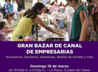 Este domingo participa en el Gran Bazar de Canal de Empresarias