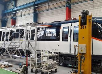 Gabinete avala préstamo para la compra de 70 vagones del Metro