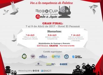 Mañana inicia la Gran Final de la CompetenciaRoboCupJrrumbo a Japón2017