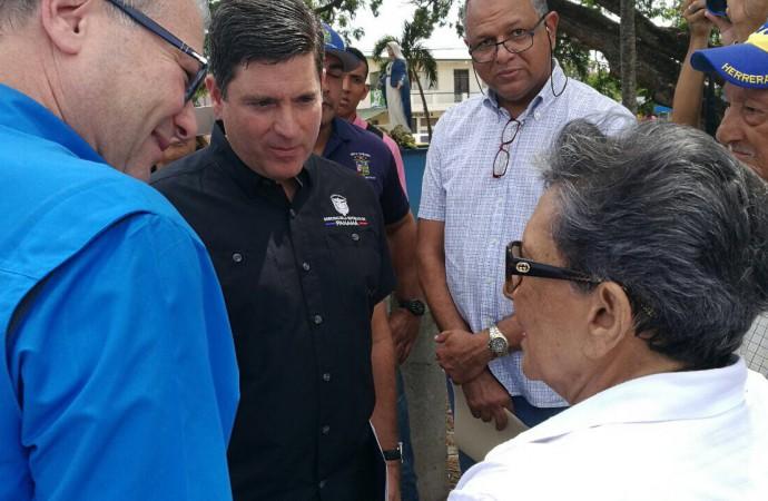 Reactivan obras comunitarias en Chitré y Parita, en la provincia de Herrera