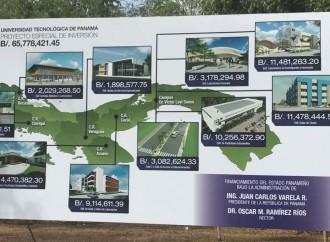 Presidente Varela pone en marcha construcción de nueva infraestructura en la Universidad Tecnológica