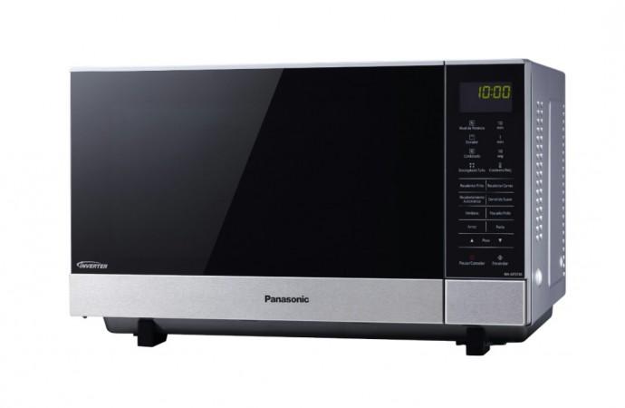 Descubre los 22 menú automáticos, lo dorado y crujiente de tus recetas con el nuevo microondas de Panasonic