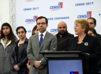 """PresidentaBachelet: """"El Censo 2017fue una jornada muy positiva para Chile"""""""