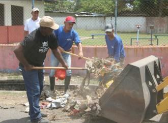 Miviot realizó jornada de recolección de basuradel corregimiento deJuan Díaz