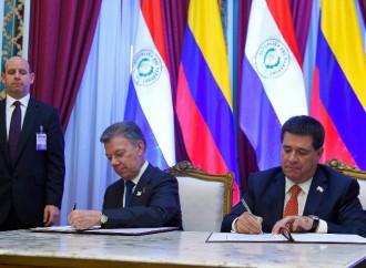 Colombia y Paraguay suscriben acuerdos de cooperación