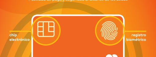 Mastercard presenta la Tarjeta Biométrica de lapróxima generación