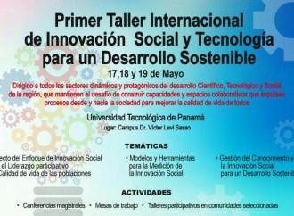 Panamá será sede delTaller internacional de Innovación Social y Tecnológica para un Desarrollo Inclusivo y Sostenible