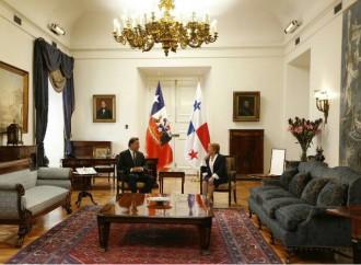 Panamá y Chile suscriben acuerdos para reforzar la seguridad y mejorar la agricultura
