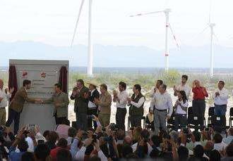 """México inaugura Parque """"Eólica de Coahuila"""""""