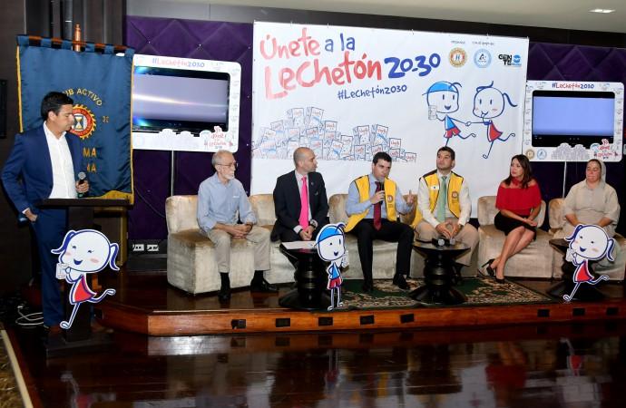 Lechetón 20-30 ha beneficiado a 16 mil niños y adultos mayores en los últimos 10 años