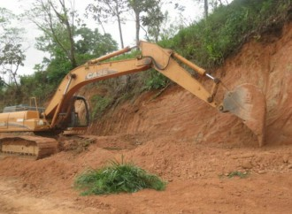 MOP avanza con trabajos del proyecto de caminos de producción en ElRetiro de Tolé