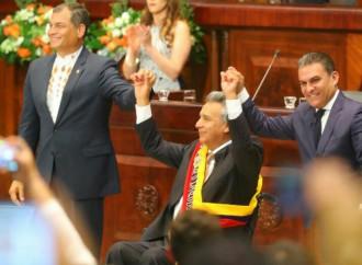 Lenín Moreno toma posesión como nuevo Presidente del Ecuador