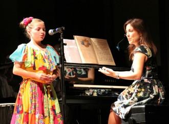 Estudiantes de colegio internacional rinden homenaje al músico panameño Gonzalo Brenes