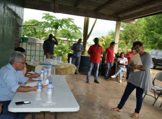 Reunión comunitaria en Utive y Dos Lagos, en Pacora con el alcalde José Blandón