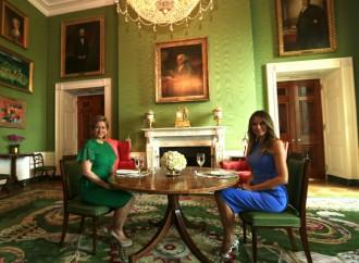 Primeras Damas de Panamá y EE.UU coinciden en temas sobre la niñez, la mujer, educación yciberbullying