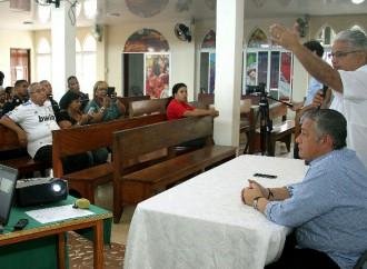 Vecinos deConcepción Municipal participan en presentación del Proyecto Casa Comunal