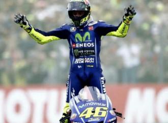 Valentino Rossi obtiene triunfoen el Moto GP de Assen, Holanda