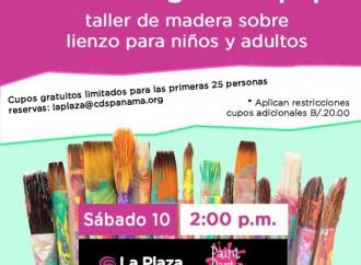 Pinta el regalo de Papá en el Taller de pintura en La Plaza Ciudad del Saber