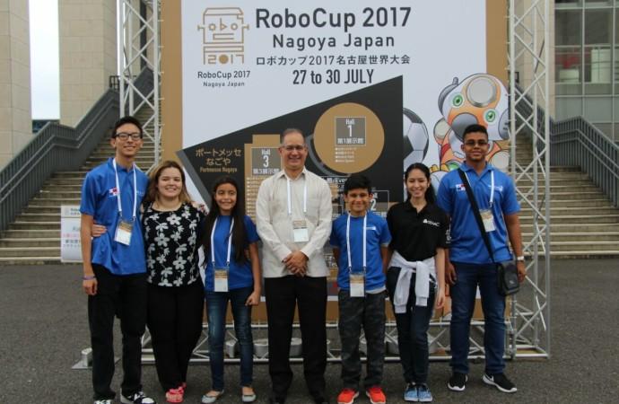 Estudiantes panameños se destacan en la Competencia Internacional RoboCup 2017 en Japón