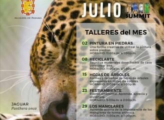 No te pierdas los Talleres que durante el mes de julio dictarán en el Parque Municipal Summit