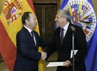 España presentó cartas credenciales del nuevo Observador Permanente ante la OEA