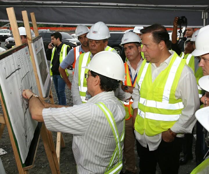 Presidente Varela supervisa trabajos de construcción de Línea 2 del Metro y del ITSE – Noticias ...