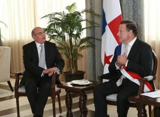 Presidente Varela recibe cartas credenciales de embajadores de Paraguay, República Dominicana y Perú