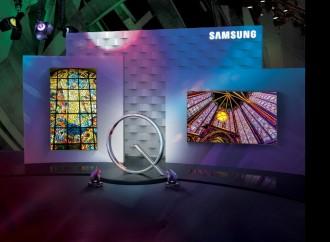 """QLED de Samsung se convierte en el primer televisor con """"Volumen de color del 100%"""""""